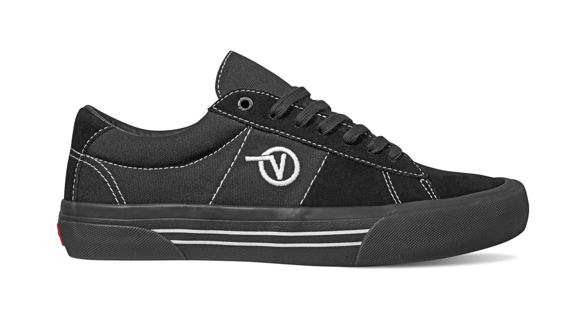 Vans Saddle Sid Pro Black/black/white