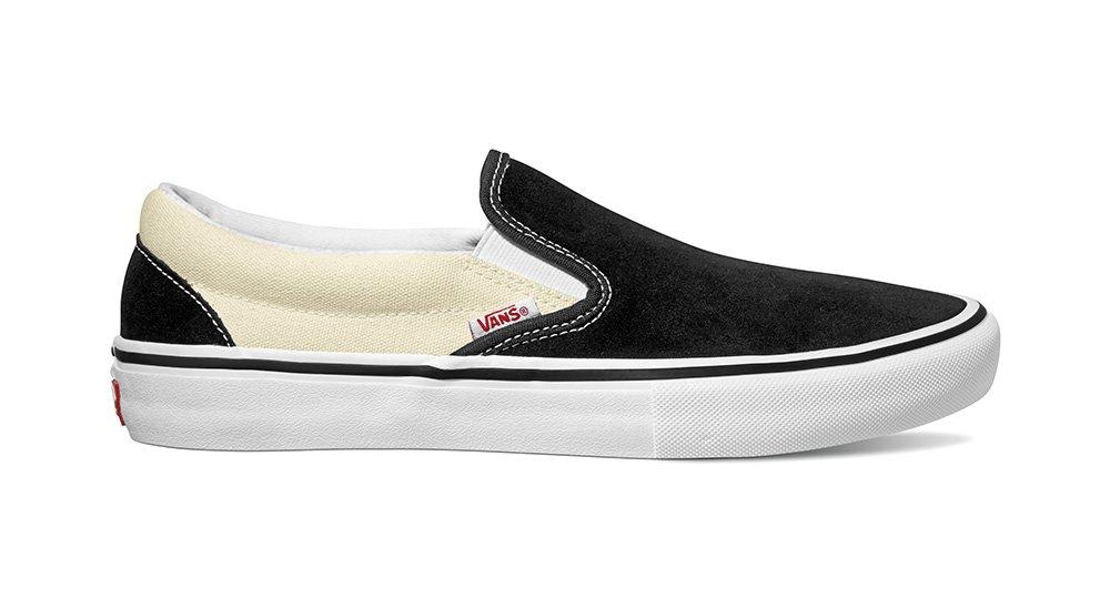 Vans Slip On Pro Black/white/white suede