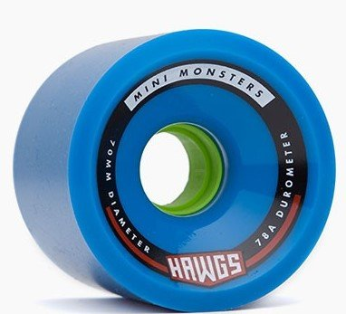 Landyachtz Hawgs Mini Monster 70mm 78a blue set of 4