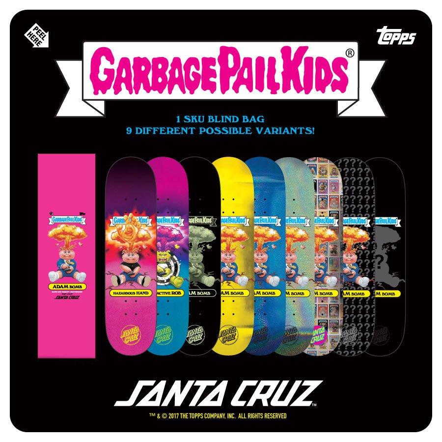 Santa Cruz Garbage Pail Kids Team 8.25 x 31.8