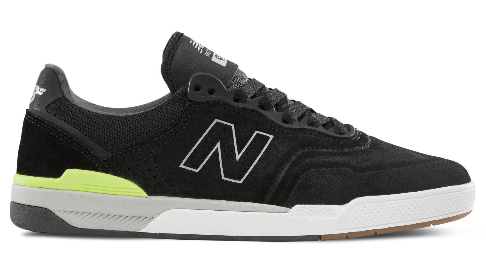 New Balance Numeric 913 Westgate black/grey/lime