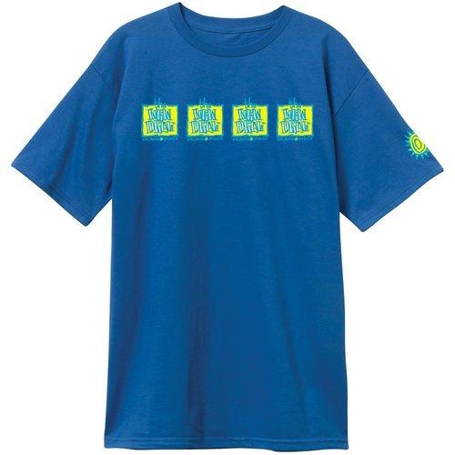New Deal Original 4 bar Napkin logo s/s t shirt Royal
