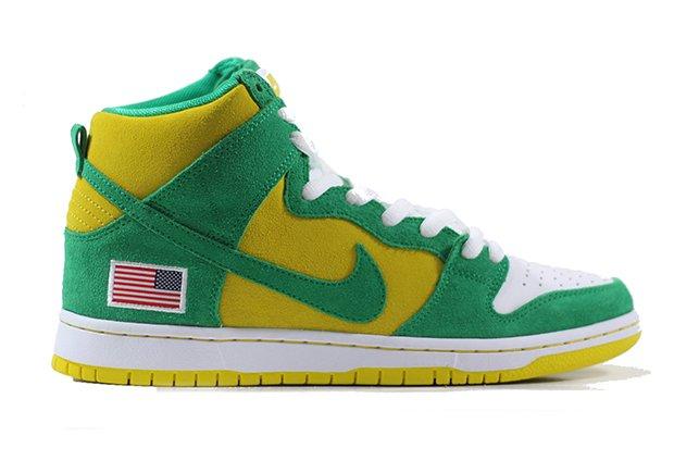 competitive price e8694 22872 Nike SB Dunk High Pro Stadium Green Stadium Green-Black-Speed Yellow