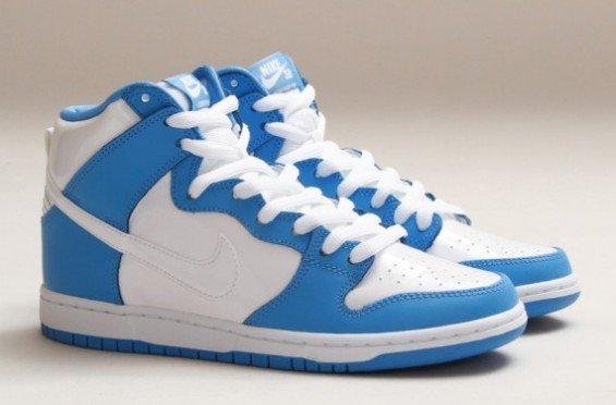 ... cheapest nike sb dunk high premium university blue white 93d32 b211a e1ba398a3