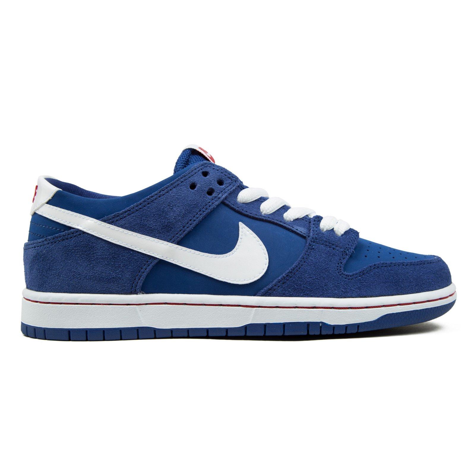d4471e2483d0 Nike SB Dunk Low Pro Ishod Wair deep royal white gym red