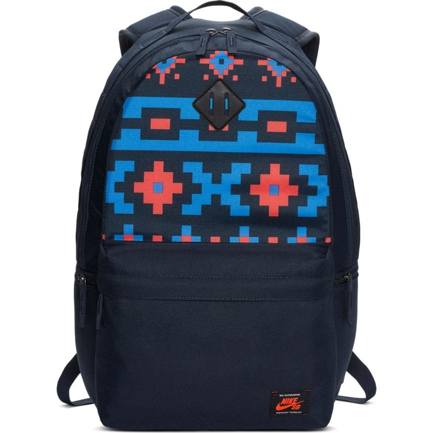 Nike SB Icon Backpack Dark Obsidian/Bright Crimson
