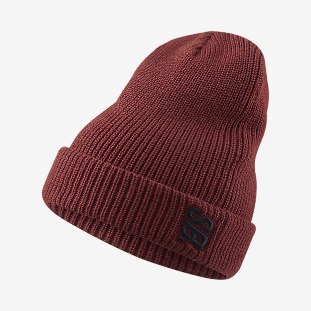 Nike SB Surplus Knit hat Dark Cayenne/Black