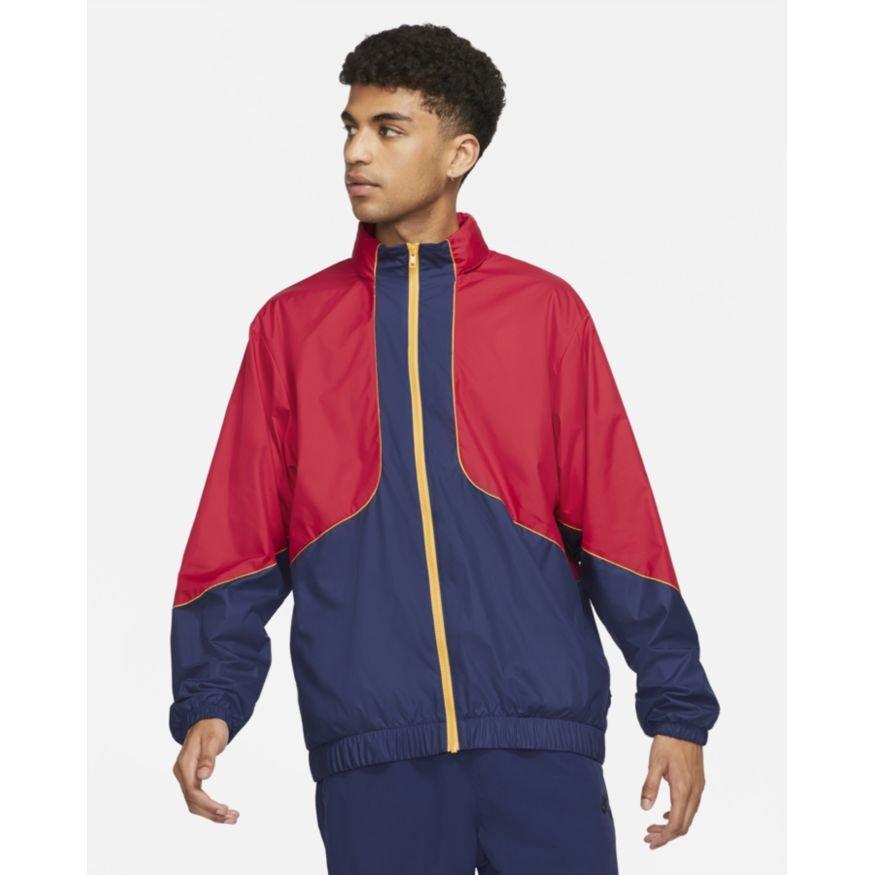Nike SB  Storm-FIT Track Jacket  Gym Red/Midnight Navy
