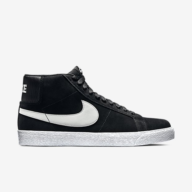 59537bab76a1 Nike SB Blazer Premium SE Black Base Grey White
