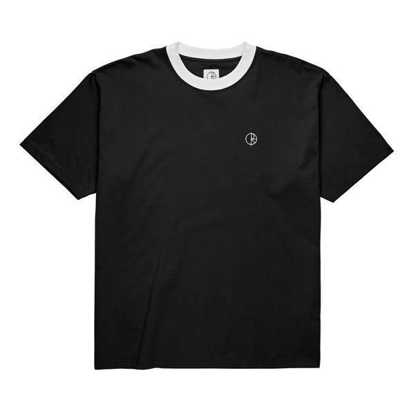 Polar Skate Co Ringer s/s t shirt Black/White