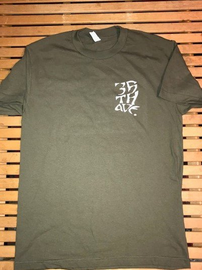 35th Harold s/s t shirt Olive Green