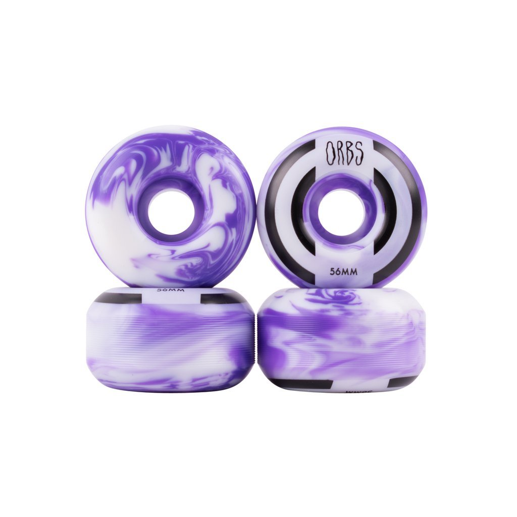 Welcome Orbs Apparitions 56mm purple/white