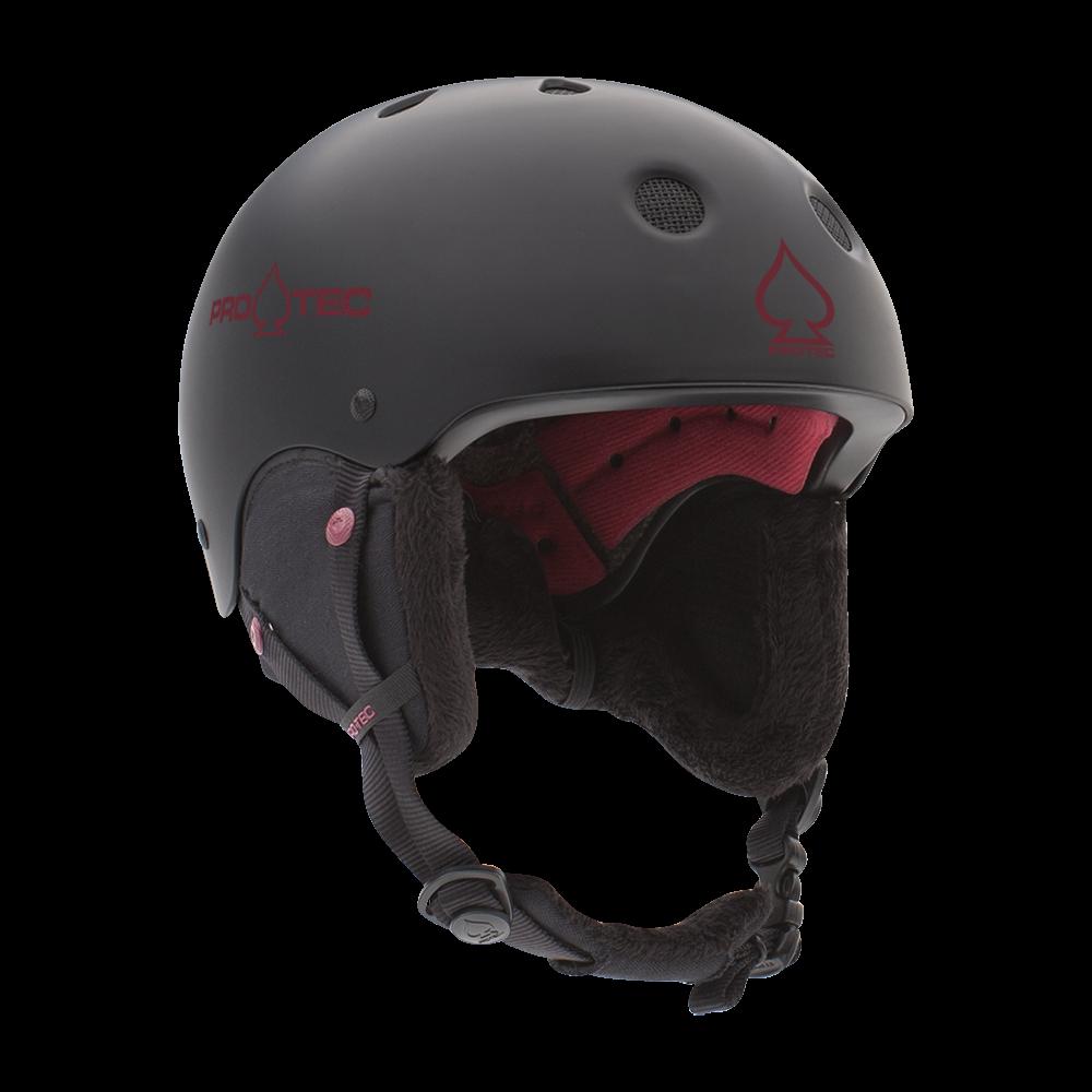 Pro-Tec Classic Certified Snow Helmet Black