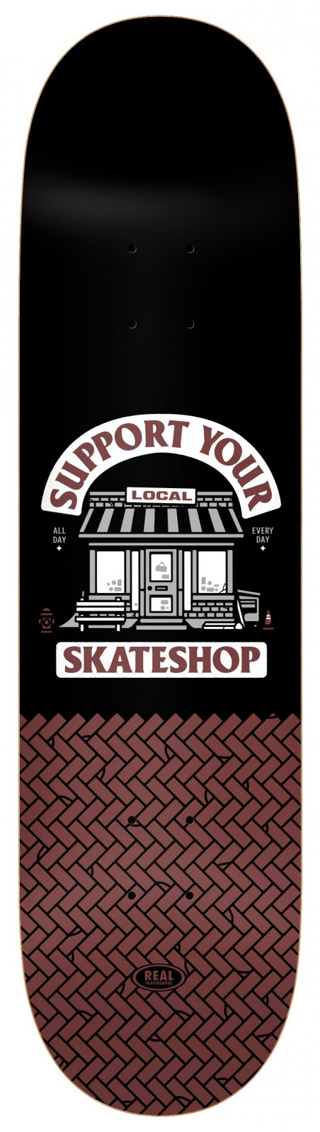Real Skateshop Day 8.5 x 31.8