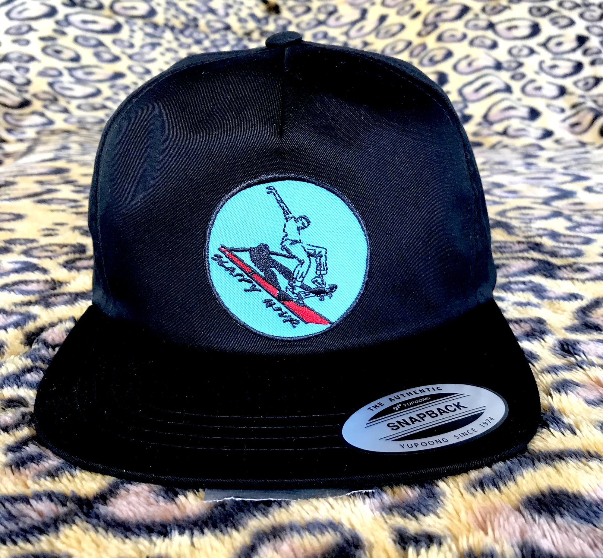Slappy Hour Russ Pope Unstructured hat black