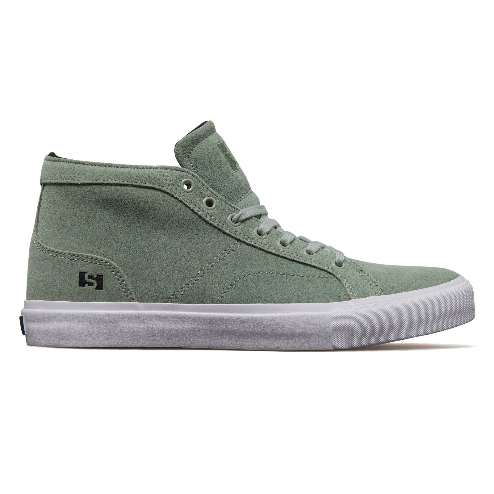 State Salem mid mint/white suede