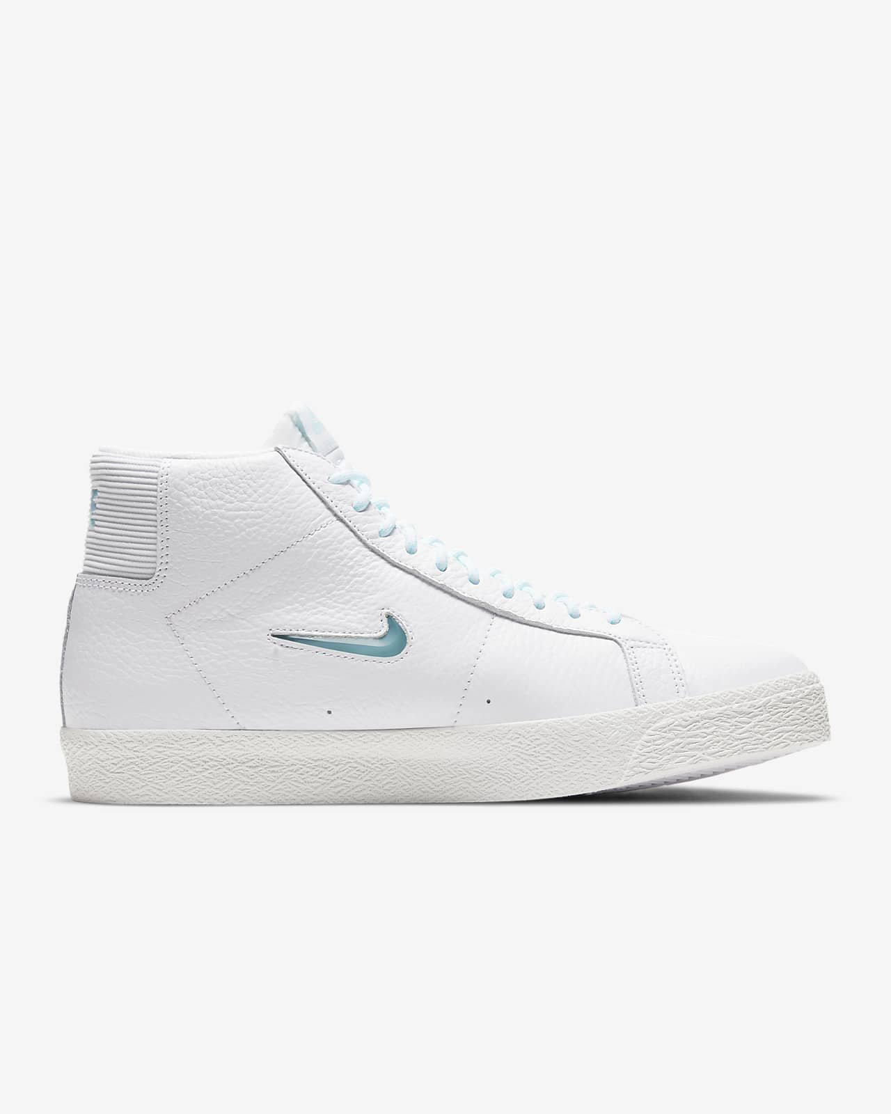 Nike SB Blazer Mid Premium White/White/Summit White/Glacier Ice
