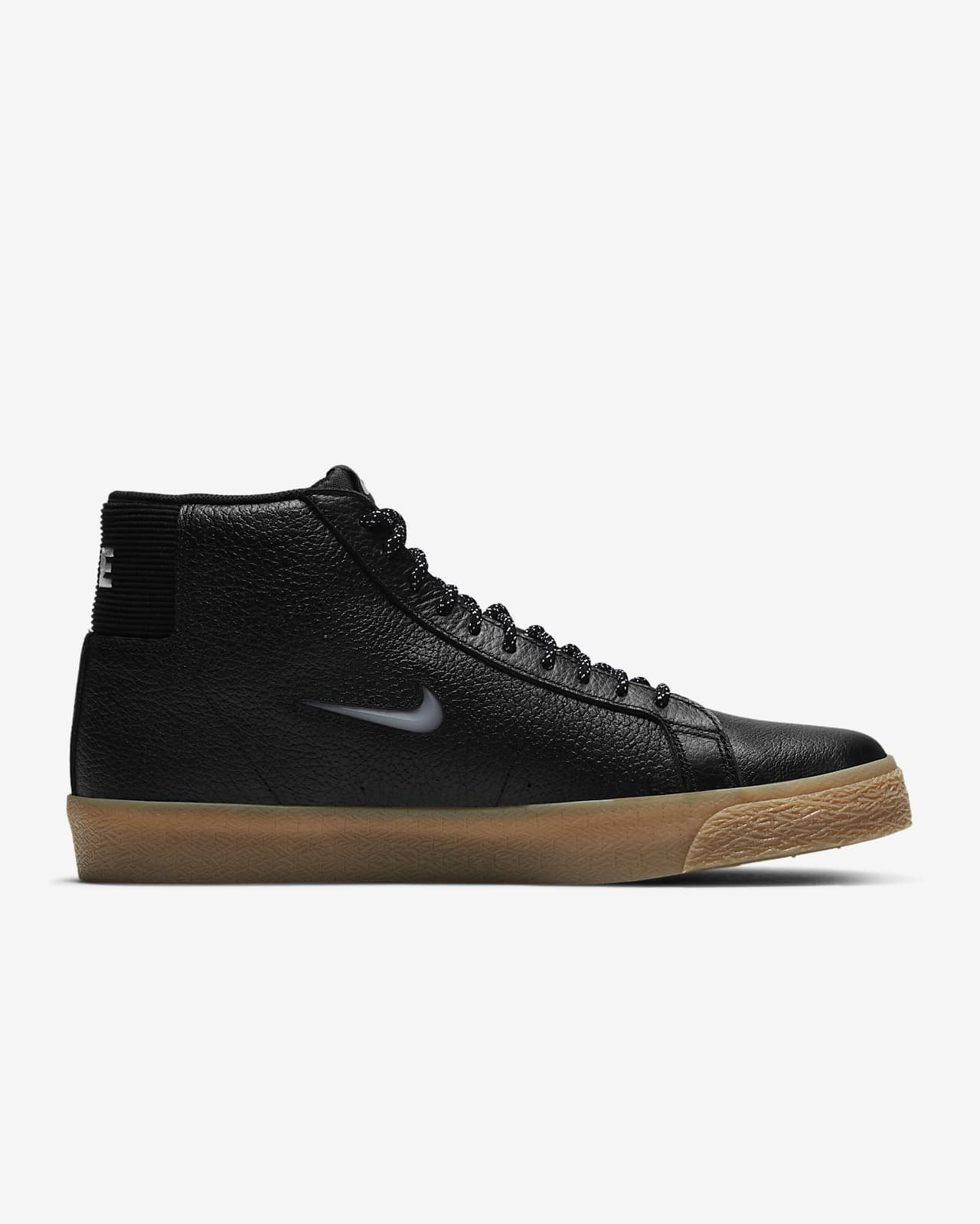 Nike SB Blazer Mid Premium Black/Black/Gum Light Brown/White