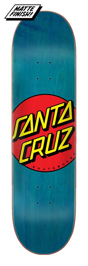 Santa Cruz 8.5in x 32.2in Classic Dot