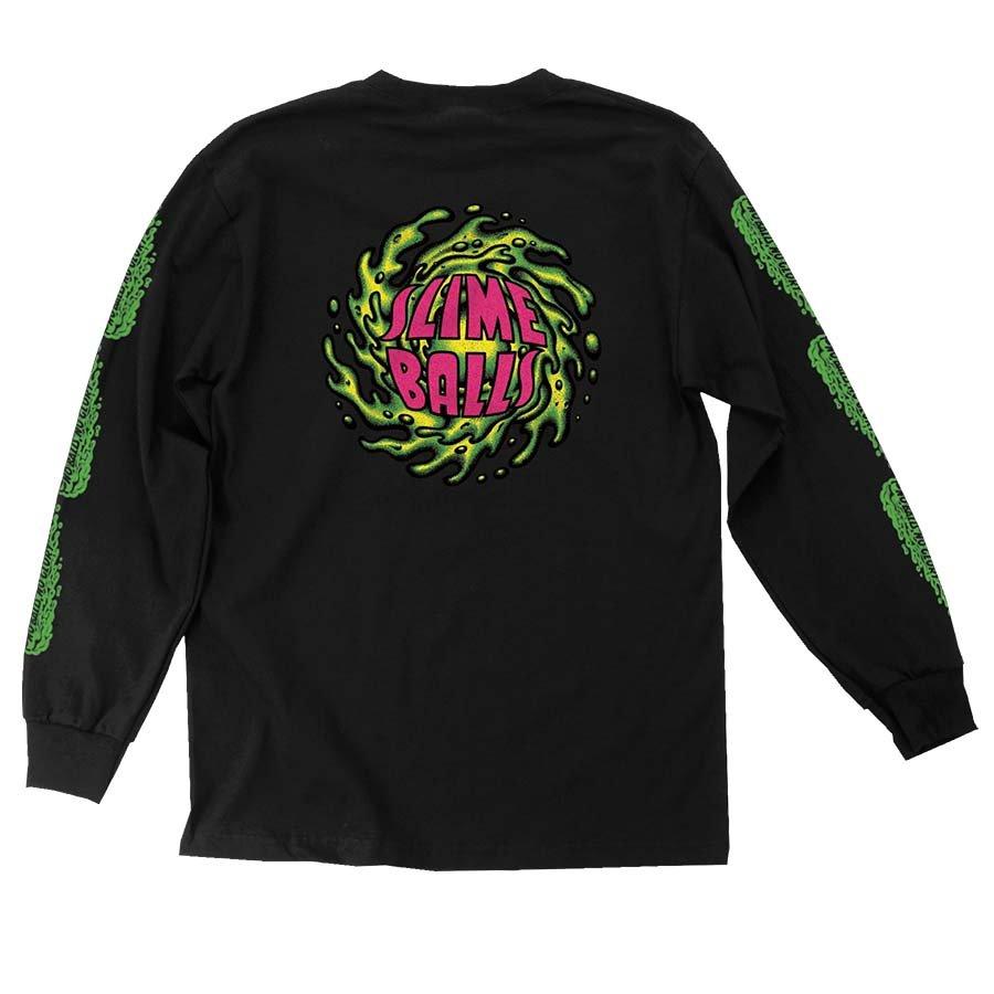 Santa Cruz Slime Balls NBNG l/s t shirt black