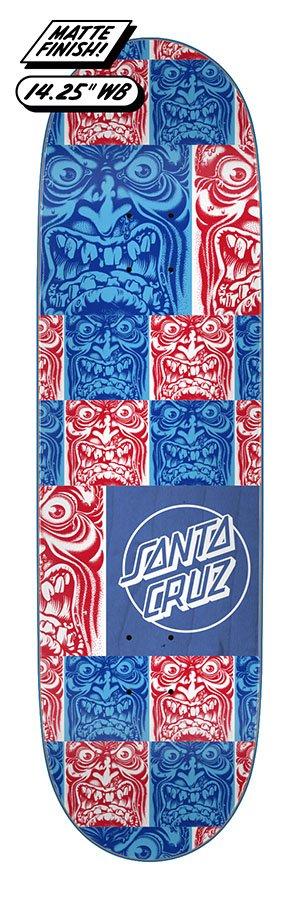 Santa Cruz 8.80in x 31.95in Roskopp Face Tile