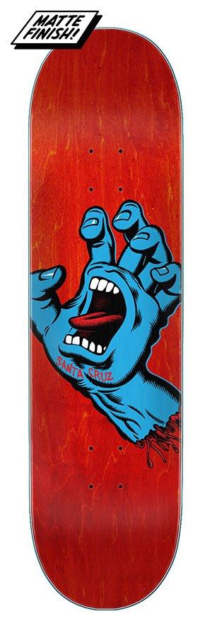 Santa Cruz 8.0in x 31.6in Screaming Hand