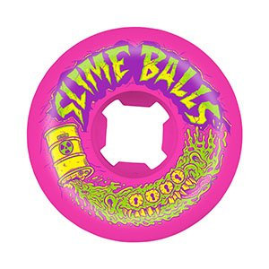 Slime Balls 54mm Toxic Terror Speed Balls 99a pink