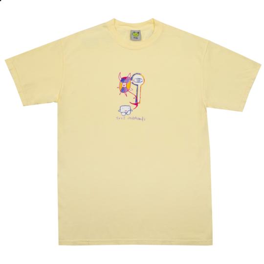 Frog Tree Spirit s/s t shirt yellow