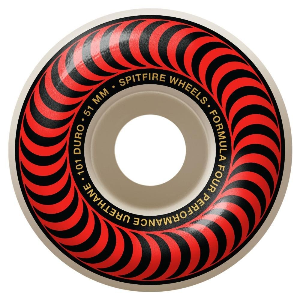 Spitfire Formula Four Classic Red 51mm 101a