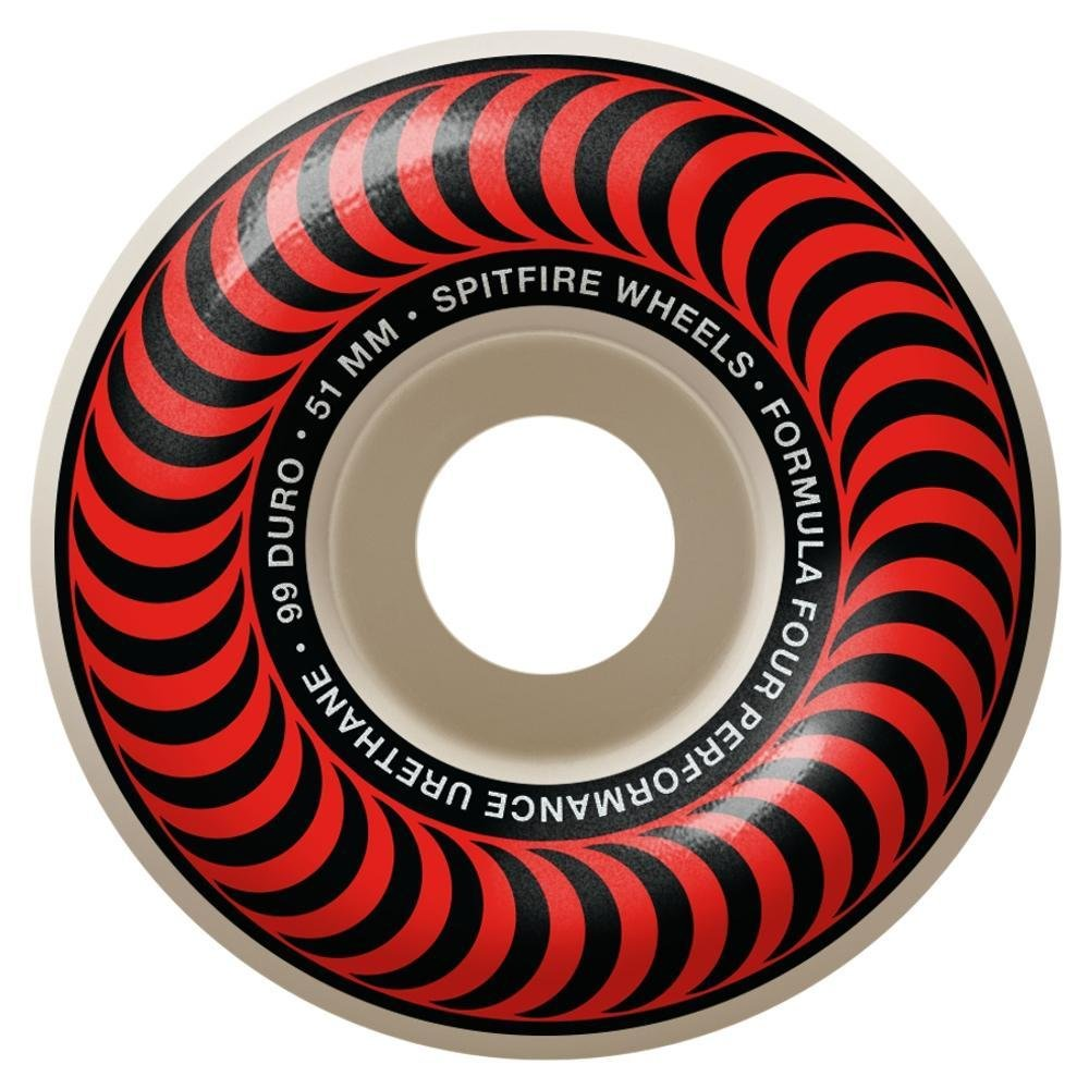 Spitfire Formula Four Classic Red 51mm 99a