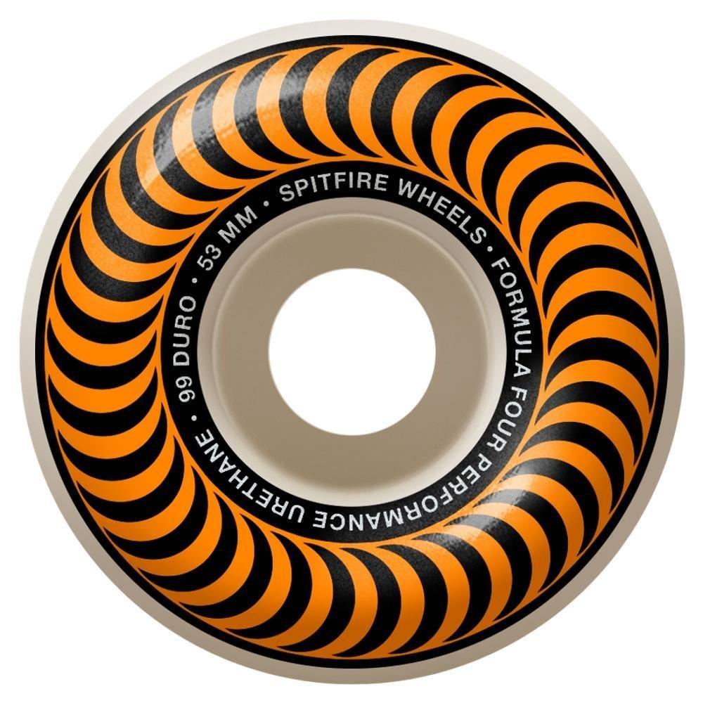 Spitfire Formula Four Classic Orange 53mm 99a