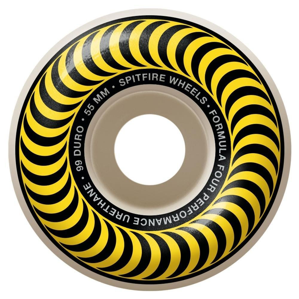 Spitfire Formula Four Classic yellow 55mm 99a