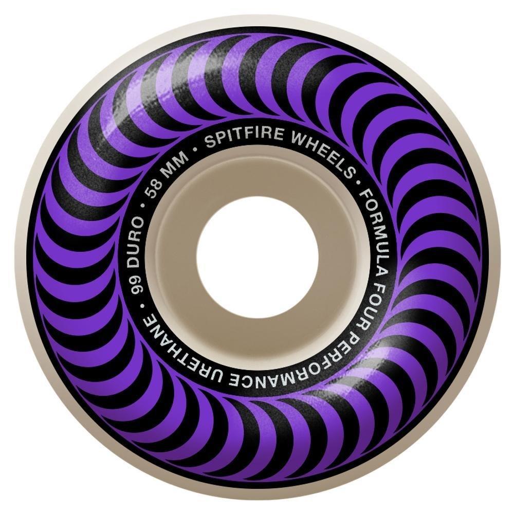 Spitfire Formula Four Classic Purple/ Bronze 58mm 99a