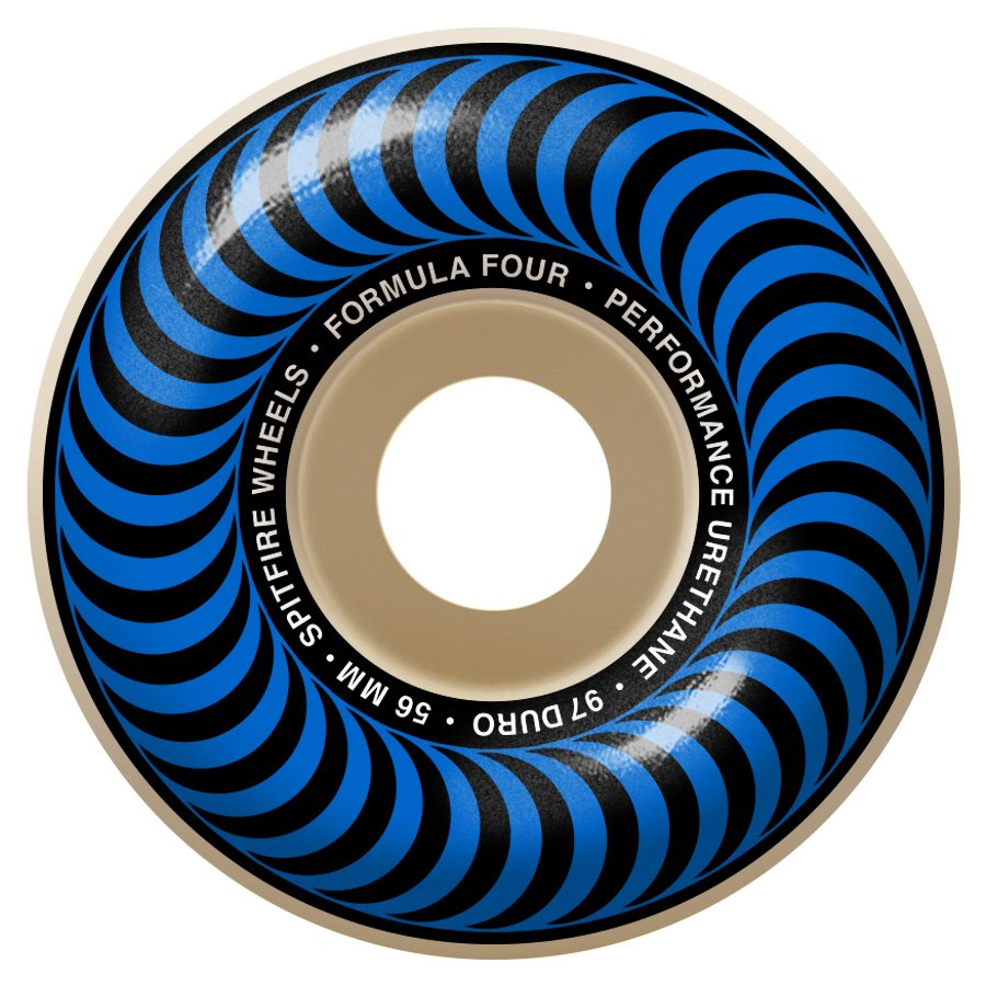 Spitfire Formula Four Classic blue 56mm 97a