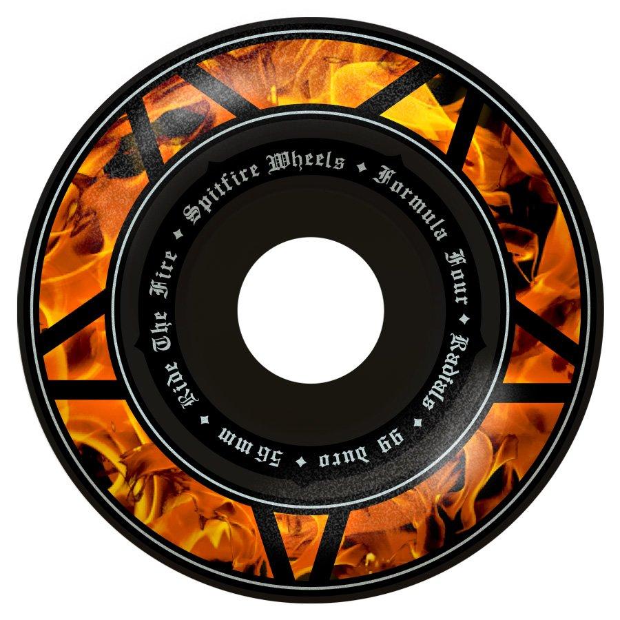 Spitfire Formula Four Radial Hellfire black 56mm 99a