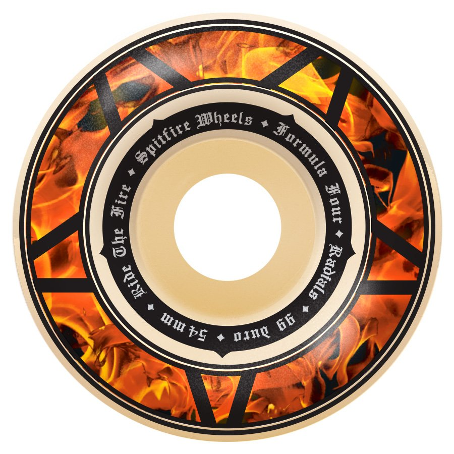 Spitfire Formula Four Radial Hellfire Multiball 54mm 99a