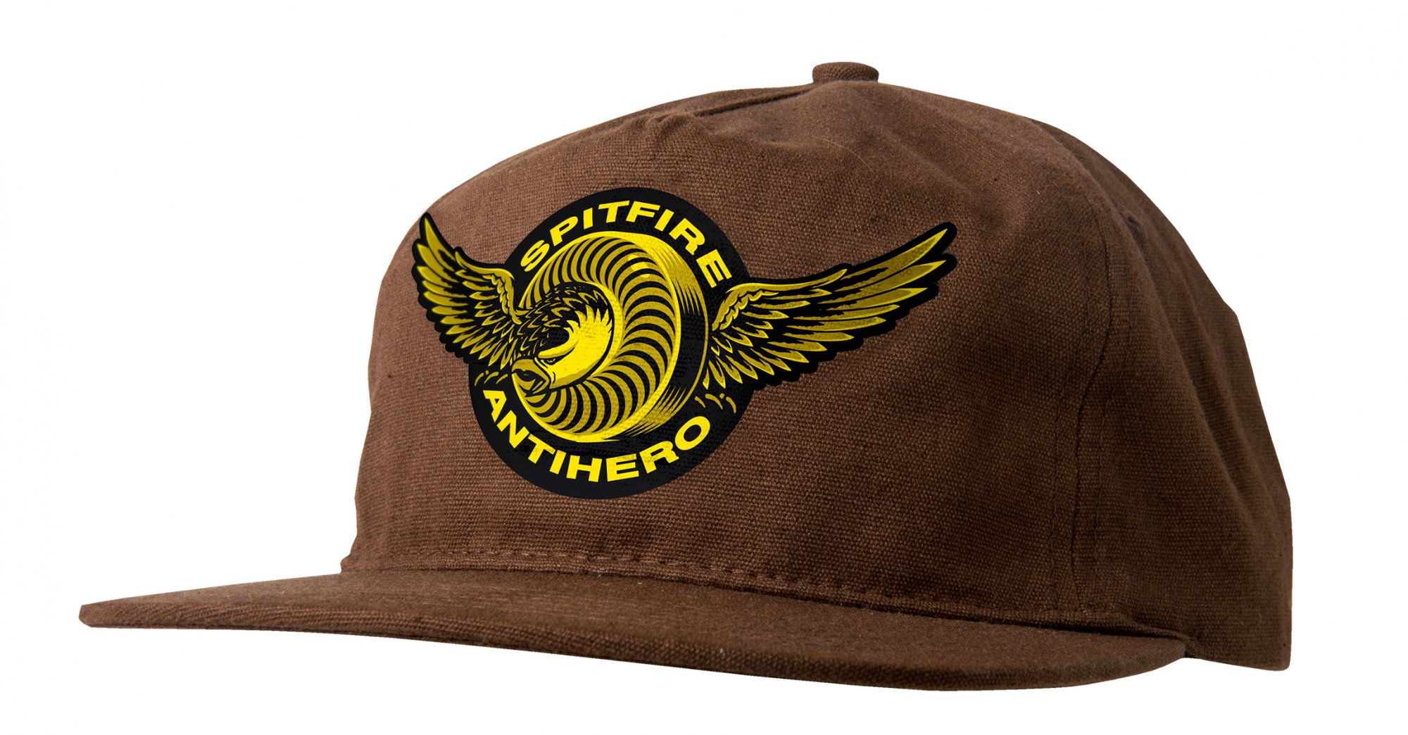 Spitfire X Antihero Classic Eagle snapback brown