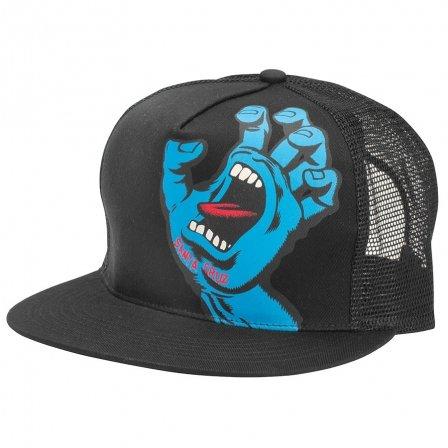 Santa Cruz Screaming Hand Trucker Hat black