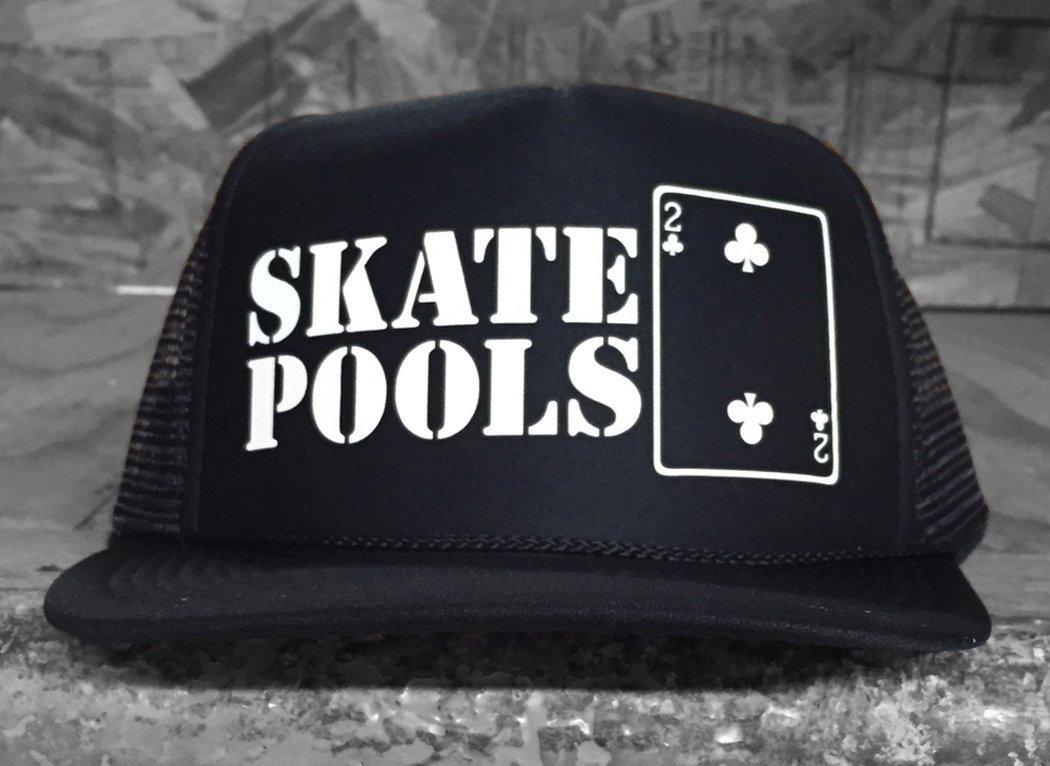 Lowcard Skate Pools foam Trucker black