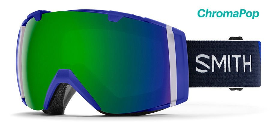 Smith I/O Goggles Klein Blue Green Mirror 2020