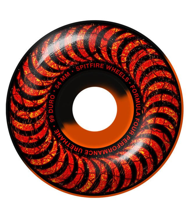 Spitfire Formula Four Classic Embers orange/black 54mm 99a