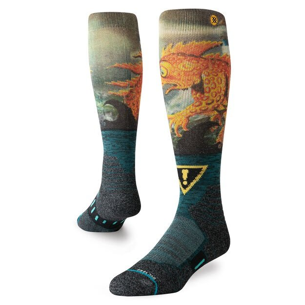Stance Lizard Lou Socks Green 2020