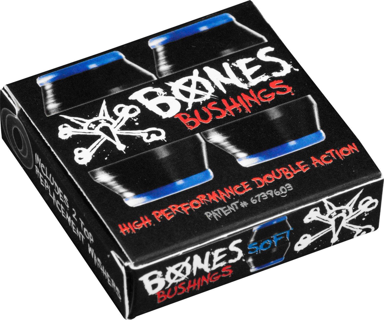 Bones Hardcore 4 pk Soft Blue black