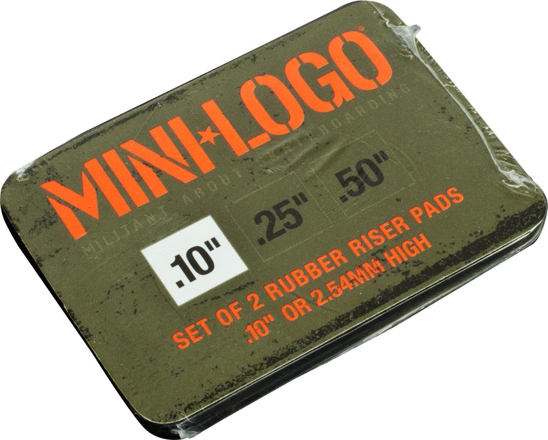 Powell Mini Logo shock riser pad .10 Inch (set of 2)