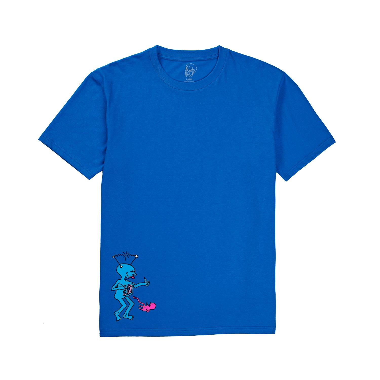 Polar x Dear, skating s/s TV kid royal blue