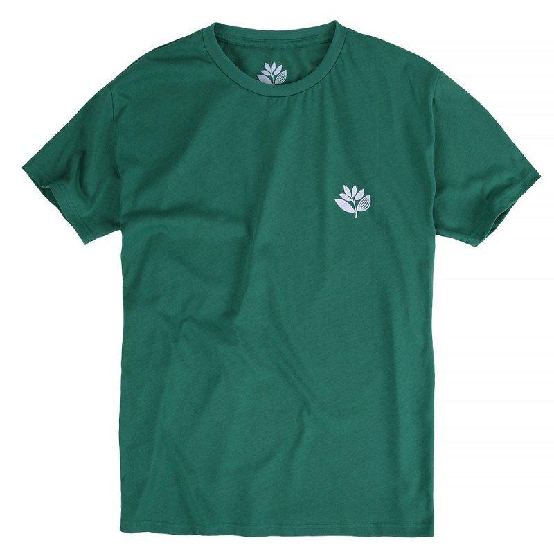 Magenta Plant Logo t shirt - Forest Green