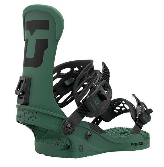 Union Force Bindings Forest Green 2021 Team HB