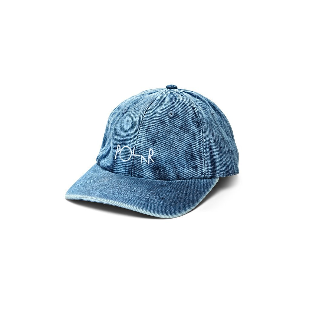 Polar Skate Co Denim hat Blue acid