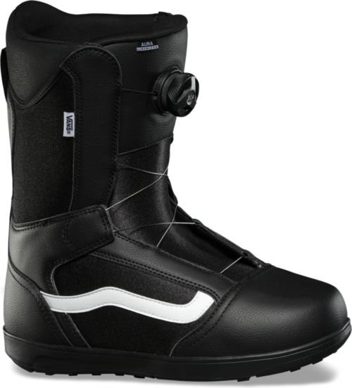 Vans Aura Linerless Boa Boots Black White 2020