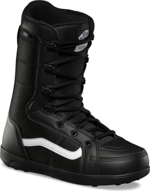 Vans Hi-Standard Linerless Boots Black White 2020